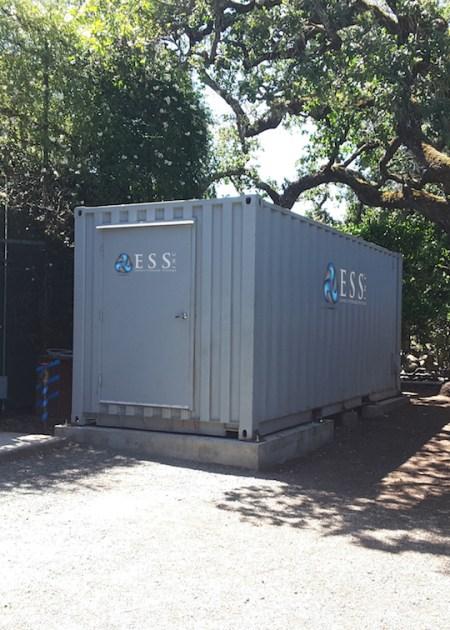 ESS hybrid iron flow battery