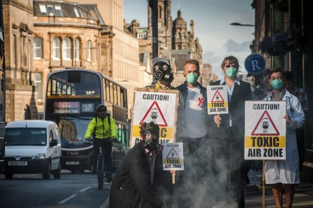 The United Kingdom grapples with air pollution