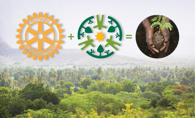 Rotary Club Helps Fund Innovative Reforestation-Agricultural Development in Haiti