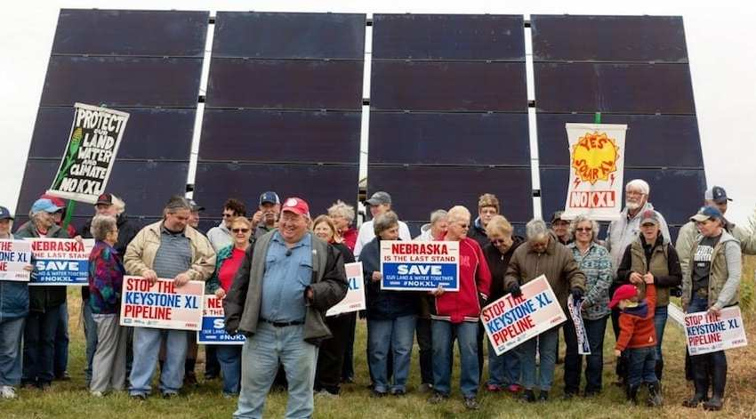 Putting Solar Panels Along the Path of the Keystone XL Pipeline