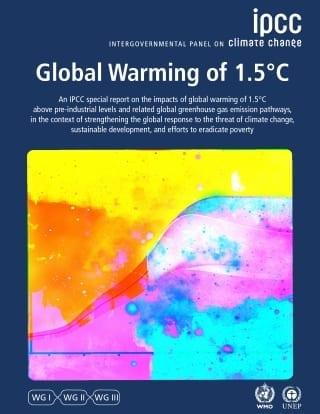 IPCC special report on 1.5C