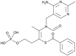 80mg of Benfotiamine
