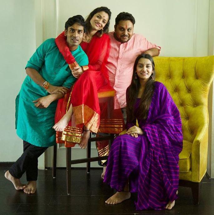 Ankita Lokhande Brother & Sister