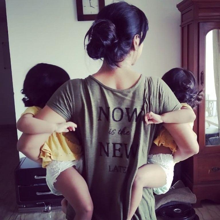 Kranti Redkar Child (Twins)