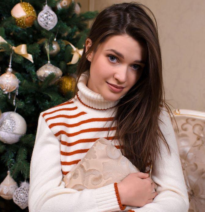 Serena Wood at Christmas Party
