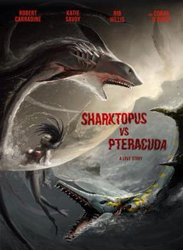 Sharktopus vs. Pteracuda (Hollywood Movie)