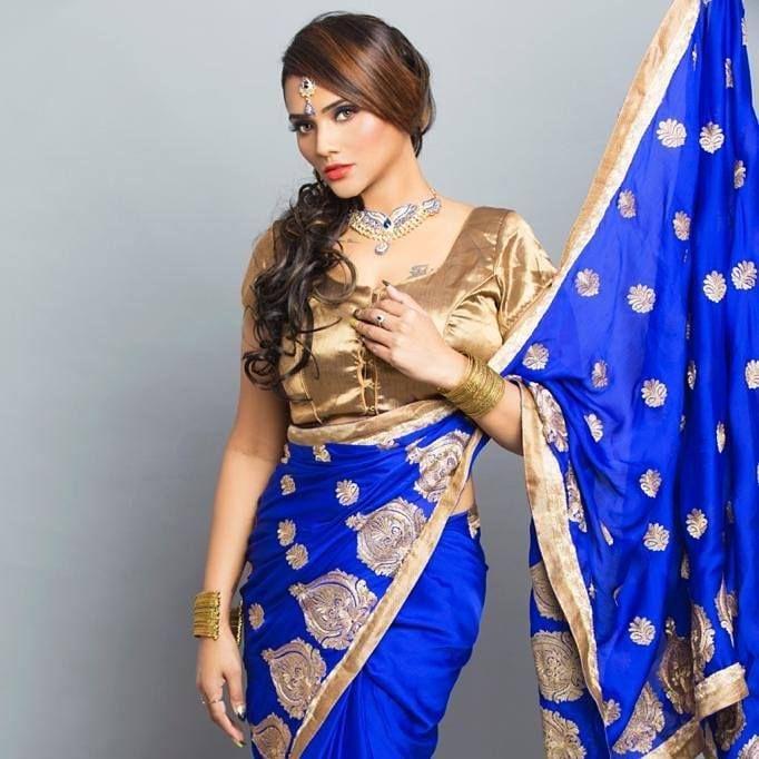 Jinnie Jaaz's Saree Look