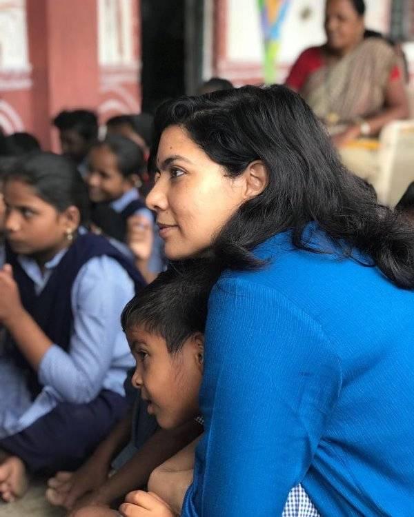 Rajshri Deshpande During Her Social Work