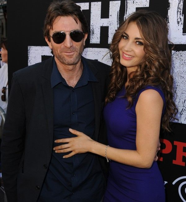 Tanit Phoenix with Her Husband