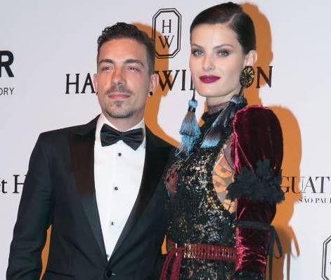 Isabeli Fontana with Her Husband 'Diego Ferrero'
