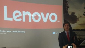 Juan Chinchilla, Director General de Lenovo Iberia