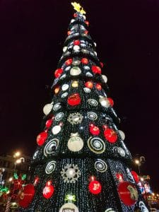 Christmas tree in Mexico City