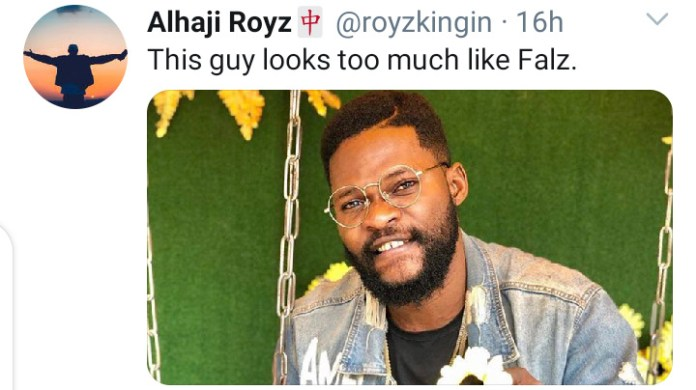 Meet Rapper Falz Look-alike That Got Social Media Talking. 1 - Your source of trusted information.