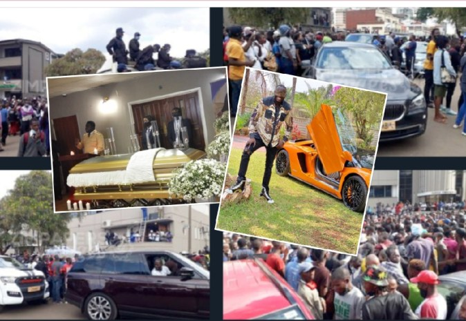 Watch: Ginimbi Funeral, Heavy Cars Block Roads, Police Failed To Control Crowd - Globecalls.com