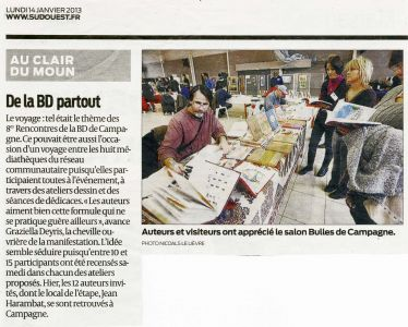 Sud Ouest Campagne (40) Janvier 2013