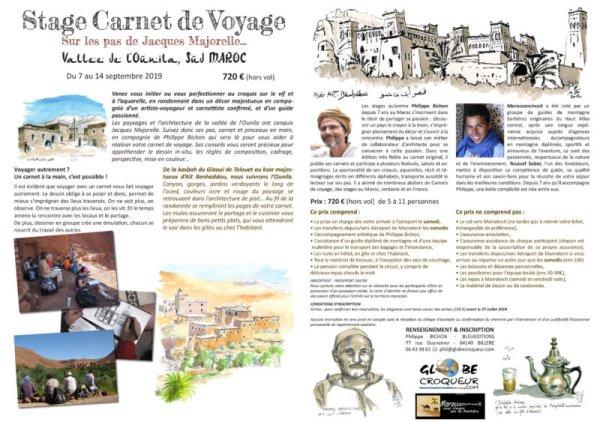 stage maroc ounila septembre 2019