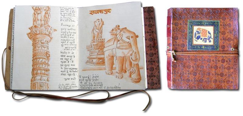 Carnet original Inde Rajasthan