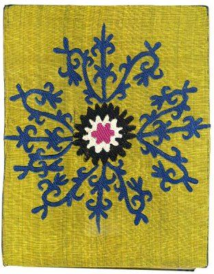 Couverture carnet original Ouzbékistan
