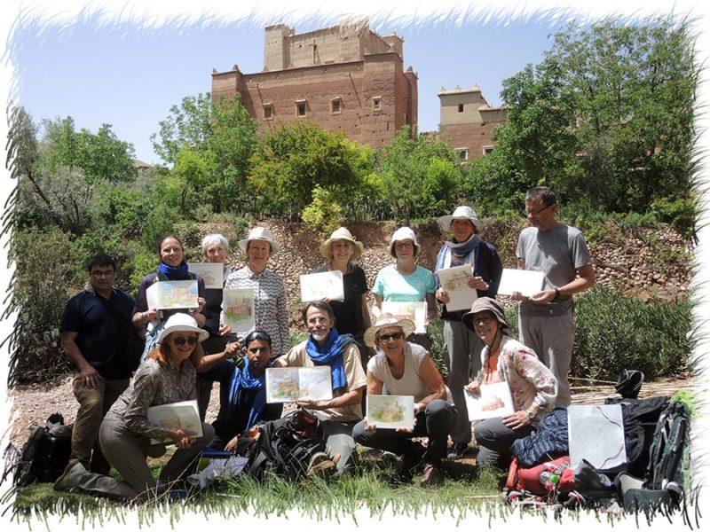 stage vallee des roses 2019 Maroc