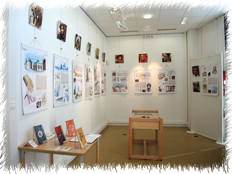 Exposition médiathèque Baden