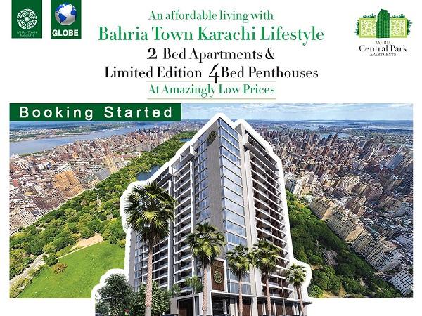 Bahria Central Park Apartments Karachi