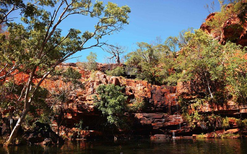 Gorge dans les Kimberley le long de la Gibb River Road