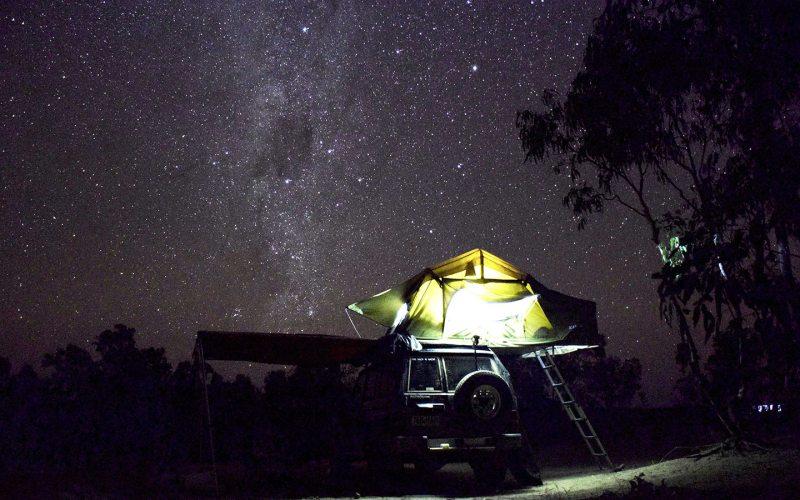 photo d'un ciel étoilé du Nord de l'Australie