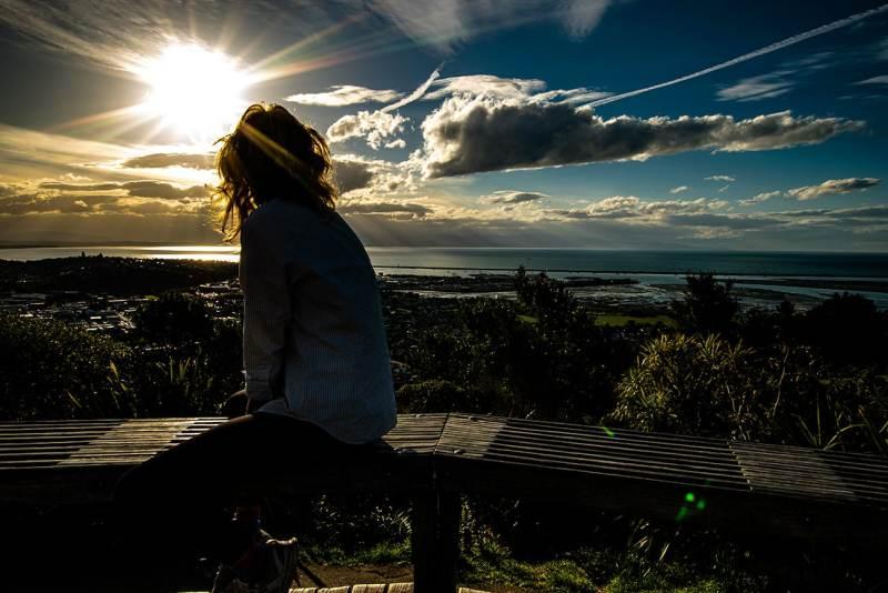 Photo d'un paysage de Nouvelle Zélande