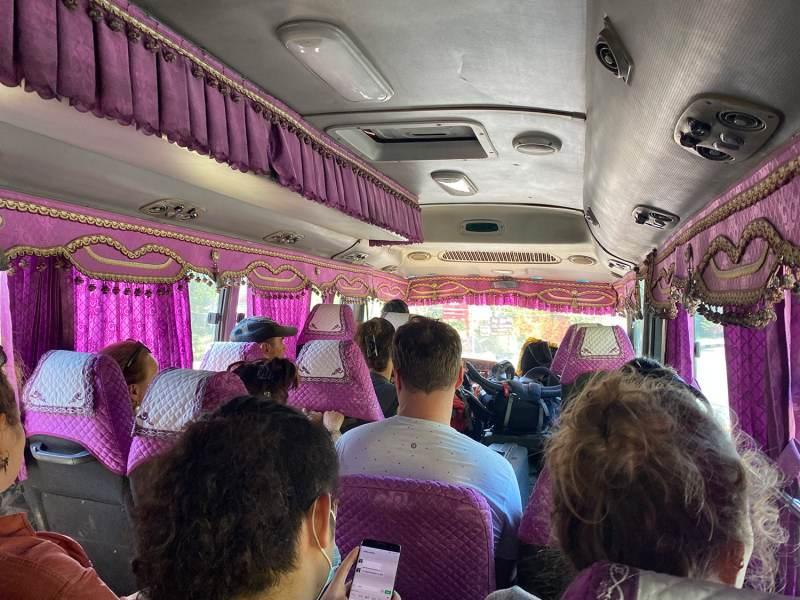 Bus au Cambodge