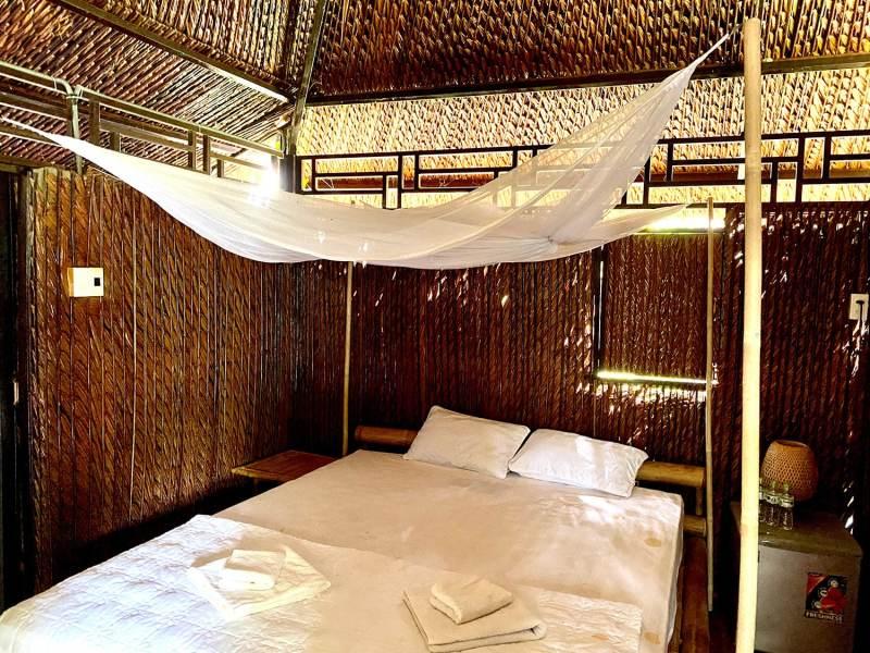 Logement chambre double delta du mékong