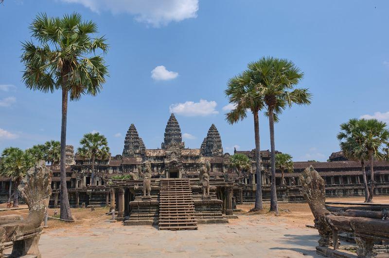 Angkor Wat plus beau temple d'Angkor