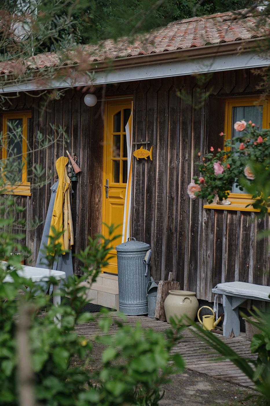 Claouey village cap ferret road trip camping car