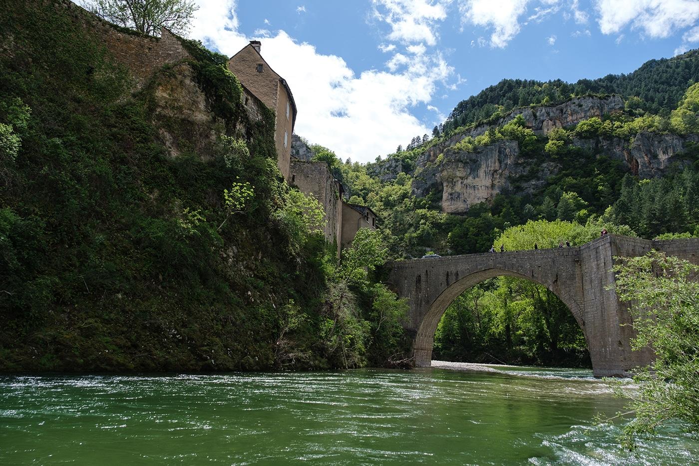 Les gorges du Tarn à Sainte Enimie
