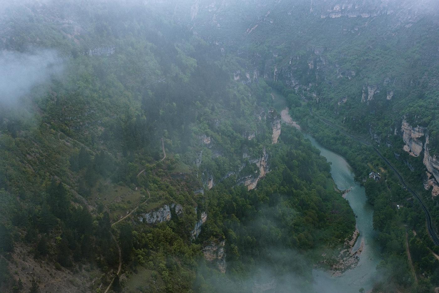 Gorges du Tarn paysage Lozère