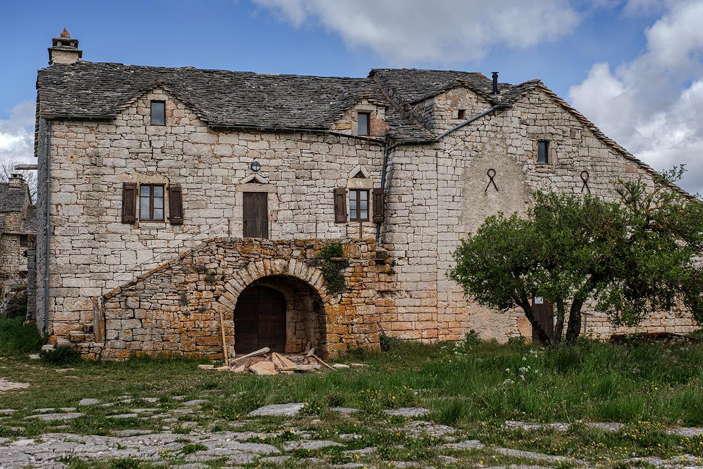 Domaine de Boisset dans les gorges du Tarn