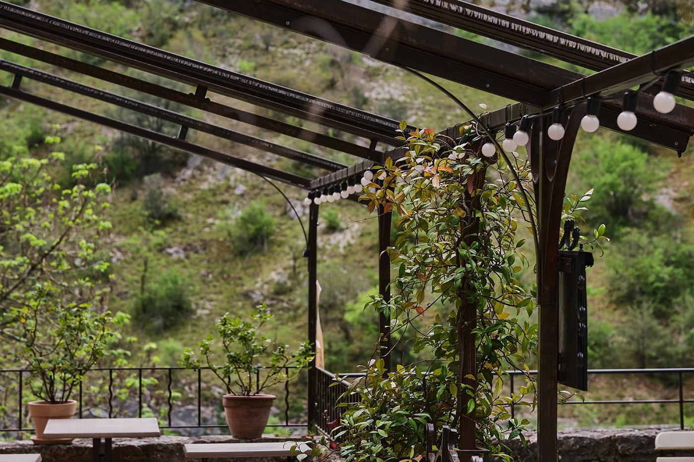 Terrasse à Rocamadour