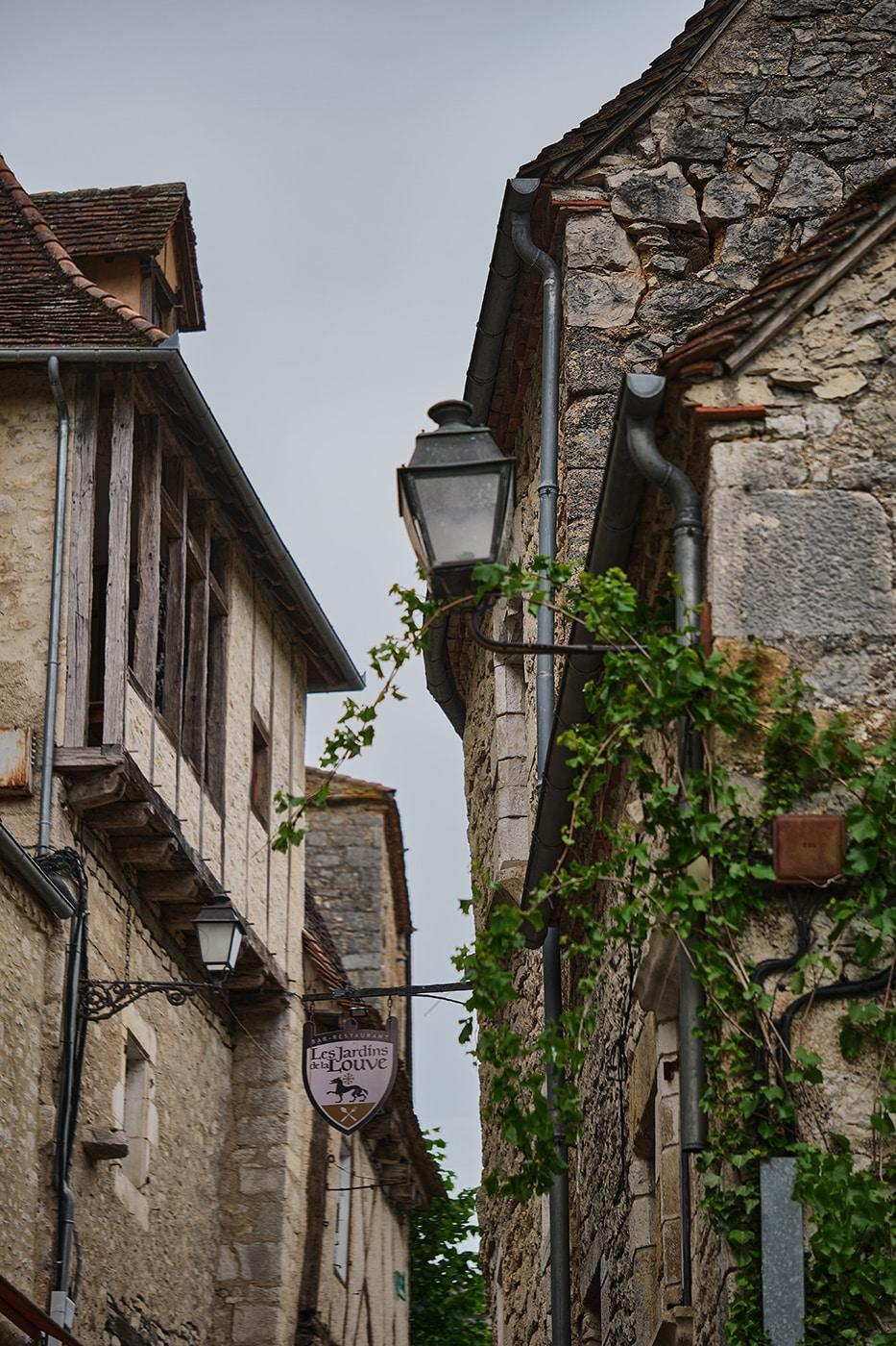 Ruelle de Rocamadour plus beau village de France dans le Lot