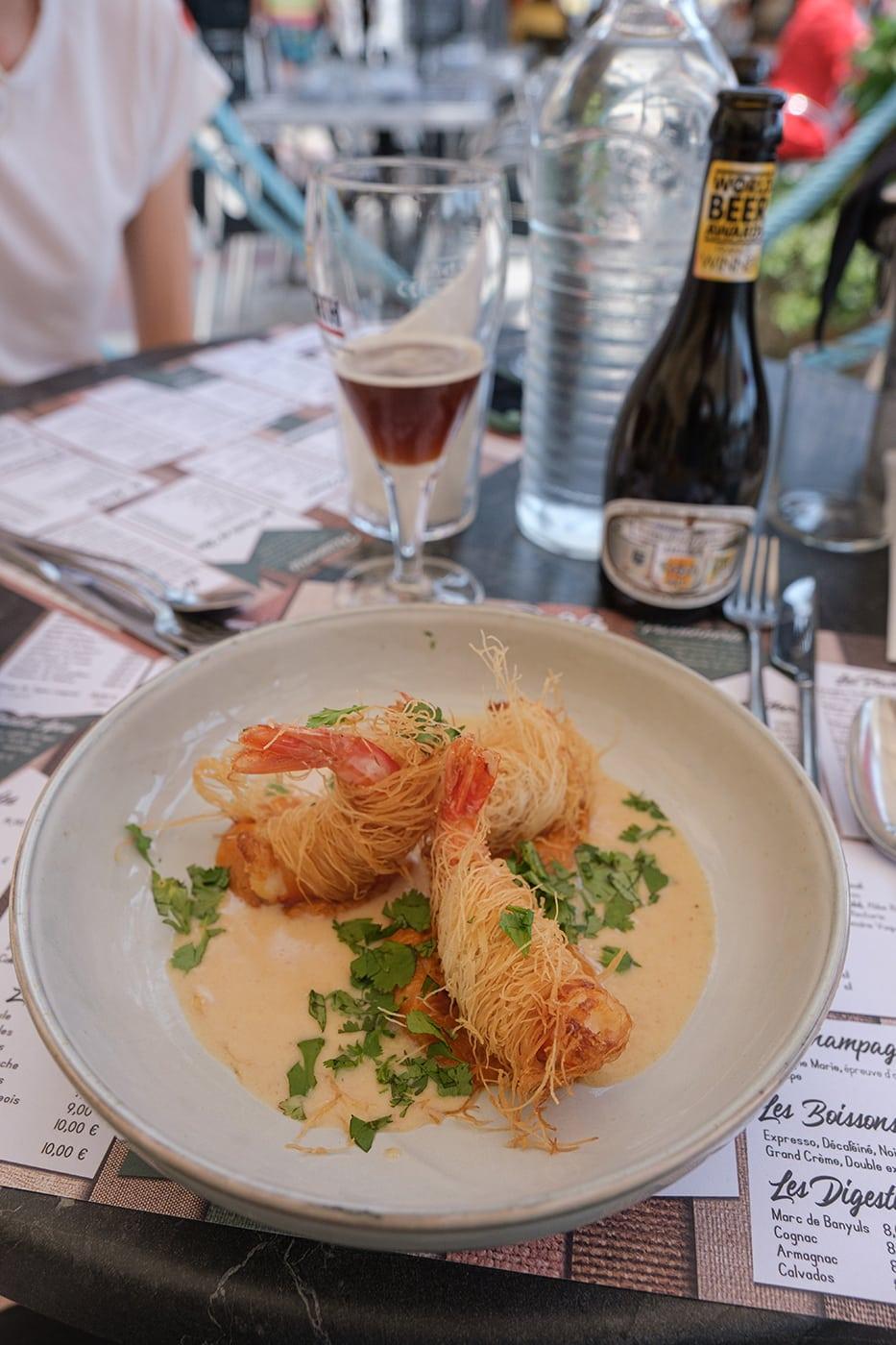 Restaurant Chez Pujol à Port Vendres