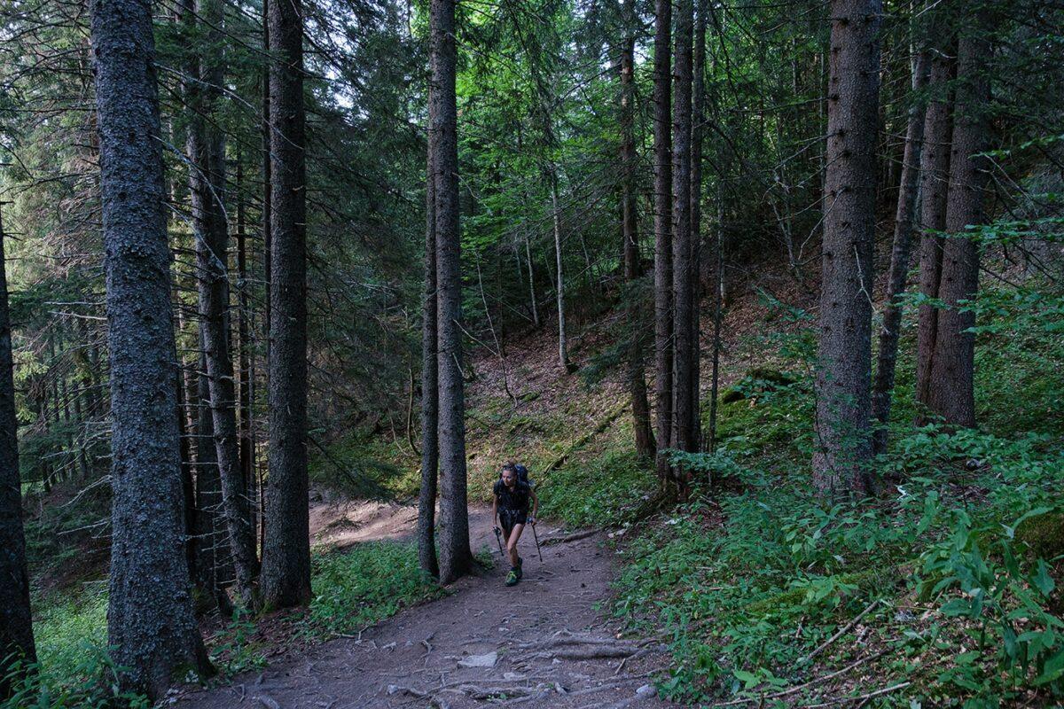 Randonnée au Mont Charvin départ