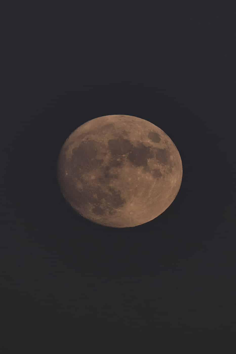 Pleine lune Montcalm