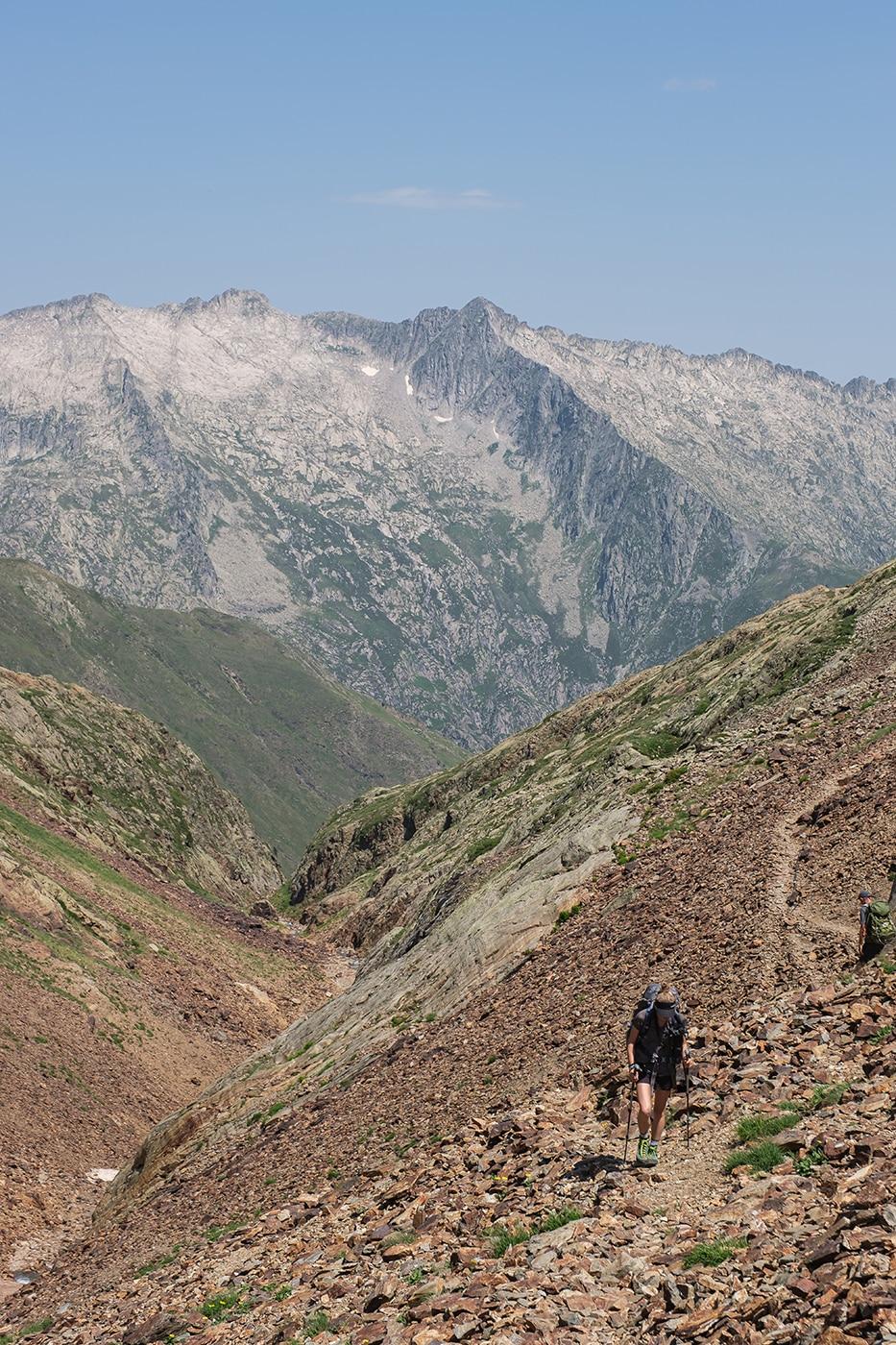 Randonnée pic du Montcalm en Ariège