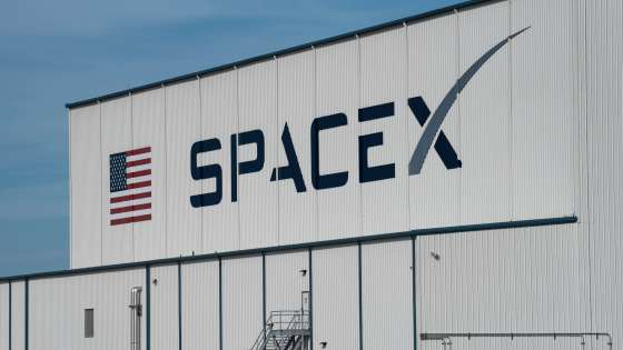 The SpaceX Hangar near launch pad 39-A at Kennedy Space Center in Florida. (Image Credit: Wikimedia Commons/Daniel Oberhaus)