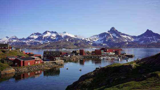 The harbor in Tasiilaq, a town in East Greenland. (Image Credit: Ray Swi-hymn/Flickr)
