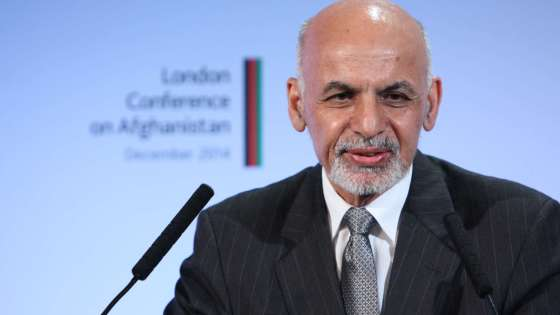 Afghan President Ashraf Ghani addresses the London Conference on Afghanistan on December 4, 2014. (Image Credit: Foreign & Commonwealth Office of the United Kingdom/Patrick Tsui)