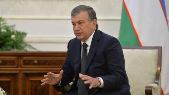 Shavkat mirziyoyev Uzbekistan