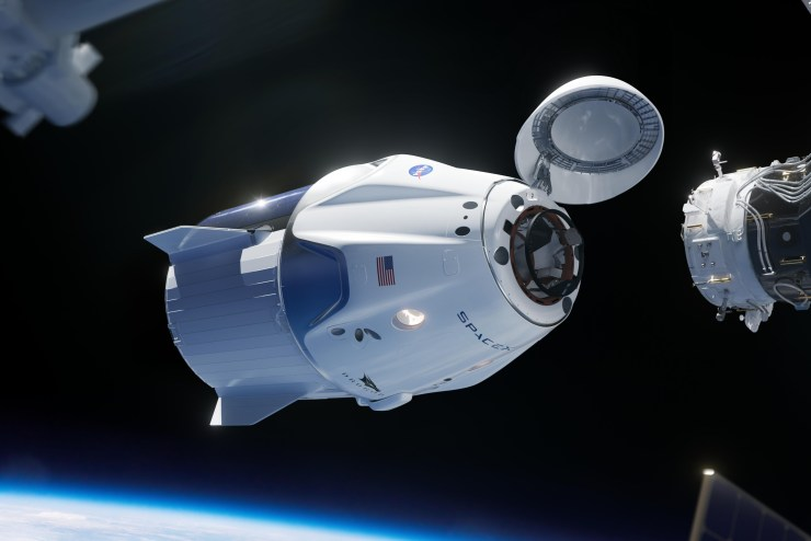 spacex crew dragon 2020