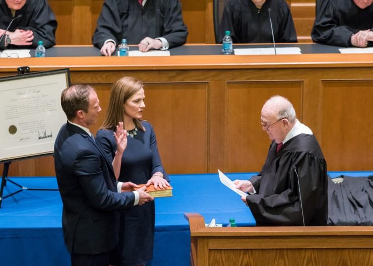 Amy Coney Barrett Supreme Court 2020