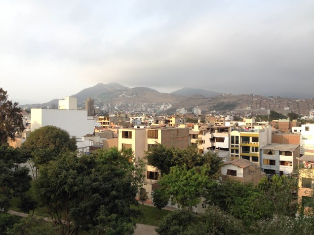 Surco - the third largest district of Lima. Home to our host Mili, many parks, and bustling open-air markets.