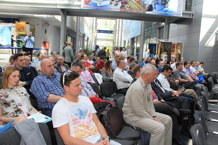 Publiczność podczas Branżowego Forum Fotowoltaicznego