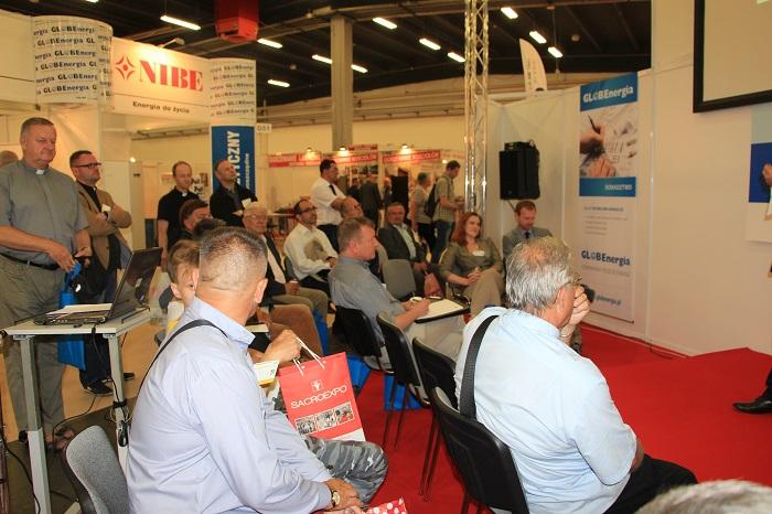 Publiczność podczas konferencji